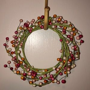 Other - 💖 Beautiful petite colorful indoor wreath 💖